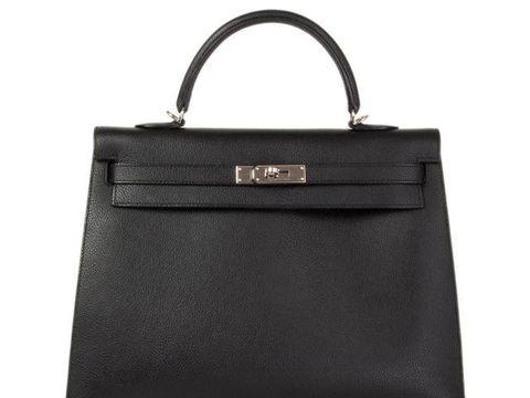 Tas Hermes Kelly 35 Sellier Noir Black Epsom