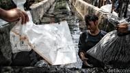 TNI AL Turun Tangan Bantu Bersihkan Saluran Air di Jakarta