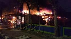 Toko Swalayan di Cilandak Jaksel Kebakaran