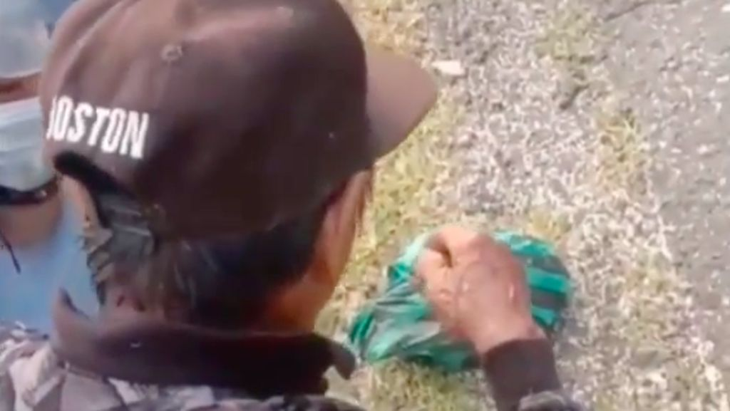 Viral Video Kakek Punguti Beras, Pemkab Mateng Turun Tangan
