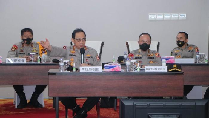 Wakapolri Komjen Gatot Eddy Cek Persiapan Keamanan PON Papua