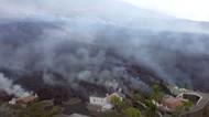 Wujud Hangusnya Pemukiman Warga Akibat Letusan Gunung di Spanyol