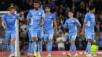 Piala Liga Inggris: Man City Libas Wycombe 6-1