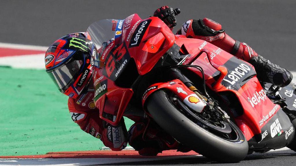 Hasil Kualifikasi MotoGP Emilia Romagna: Bagnaia Pertama, Quartararo Urutan 15