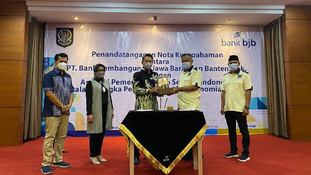 Perkuat Akses Perbankan untuk Warga Desa, APDESI Jabar Gandeng Bank bjb