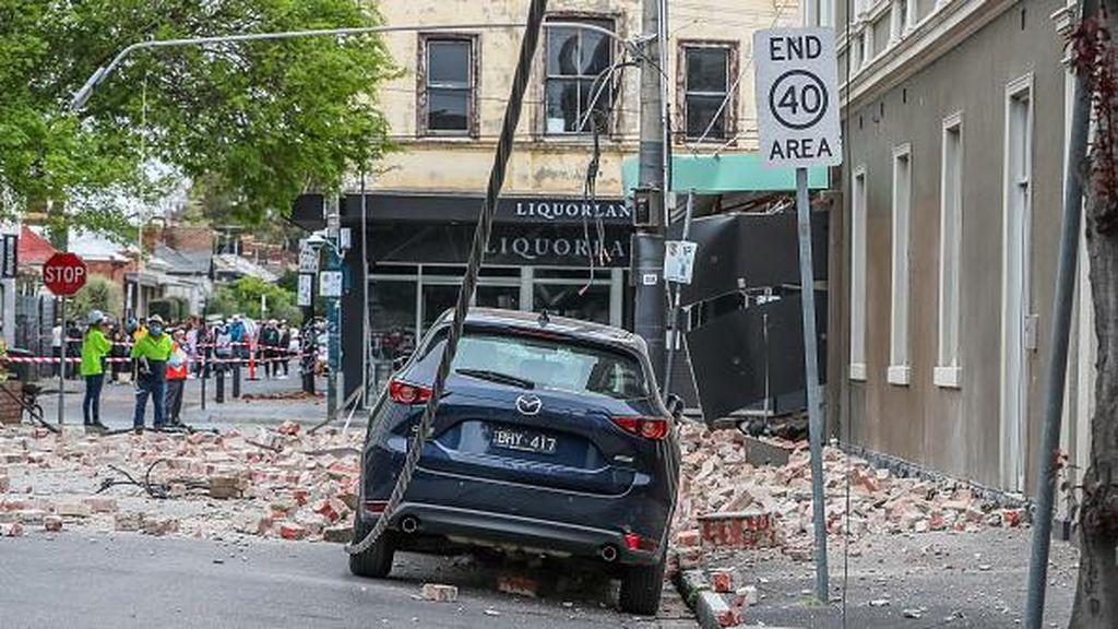 Kepanikan Warga Melbourne Usai Diguncang Gempa Magnitudo 6