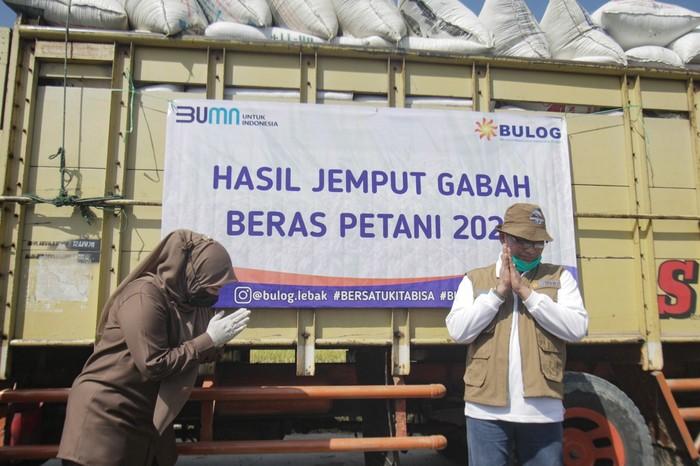 BULOG Sudah Serap 1 Juta Ton Beras Petani Lokal hingga September 2021