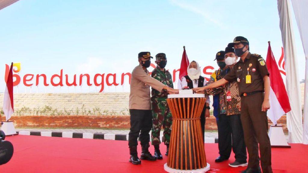 Bendungan Gongseng Bojonegoro Mulai Tahap Pengisian Air