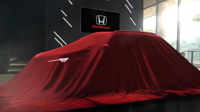 Calon mobil baru Honda