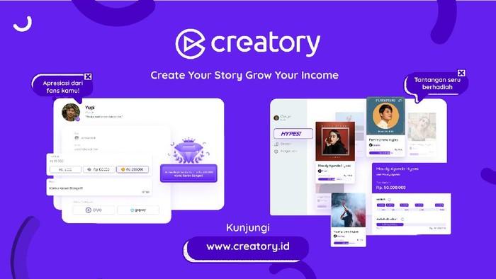 Creatory Jadi Plaform Digital Dukung Konten Kreator Indonesia