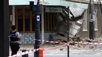Diguncang Gempa Langka, Area Perbelanjaan di Melbourne Porak Poranda