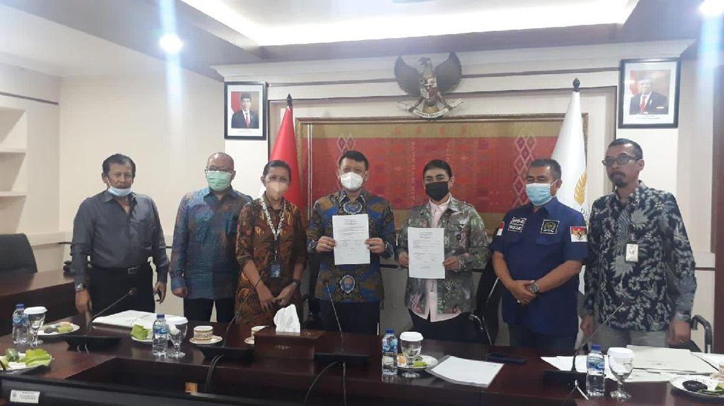 DPD Bantu Mediasi Sengketa Lahan Telkom di Toraja Utara