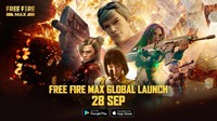 Catat! Free Fire Max Rilis 28 September