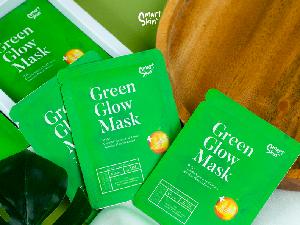 Ingin Wajah Glowing dan Jerawat Tuntas? Gunakan Green Glow Mask