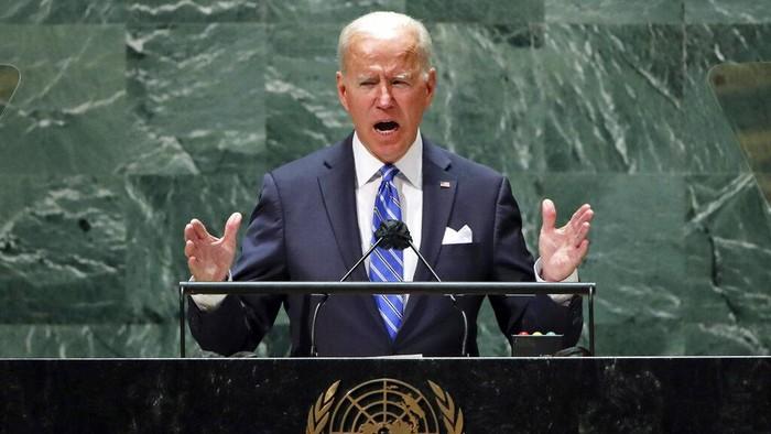 Joe Biden berbicara soal kemerdekaan Palestina di Sidang Majelis Umum PBB. Ia menilai kemerdekaan Palestina jadi 'cara terbaik' untuk pastikan masa depan Israel