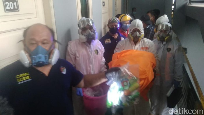 Janin tak bernyawa ditemukan di dalam kamar kos di Samarinda