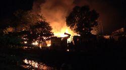 11 Rumah di Perumahan Padat Makassar Terbakar