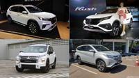 Duel Ketat SUV Murah: Pilih BR-V, Rush-Terios, atau Xpander Cross?