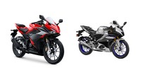 Komparasi Yamaha R15 V4 Vs All New Honda CBR150R, Siapa Lebih Unggul?