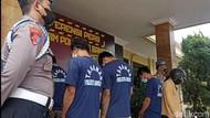 Komplotan Pencuri Motor Todong Pistol di Indekos Bandung Ditangkap