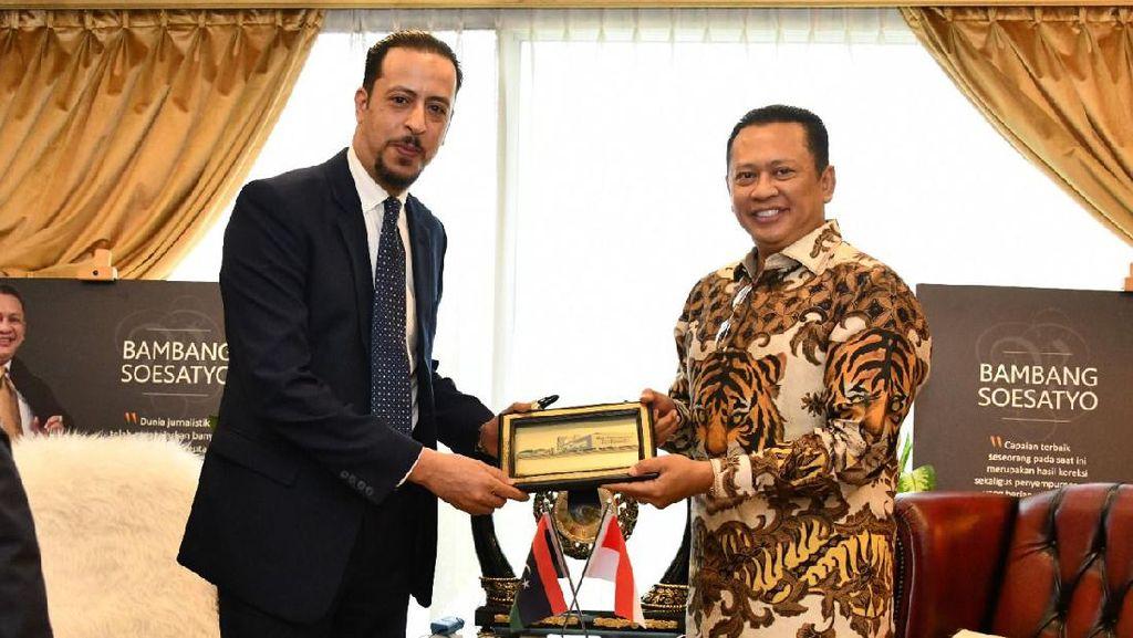Bertemu Dubes Libya, Ketua MPR Bahas Peningkatan Kerja Sama Ekonomi