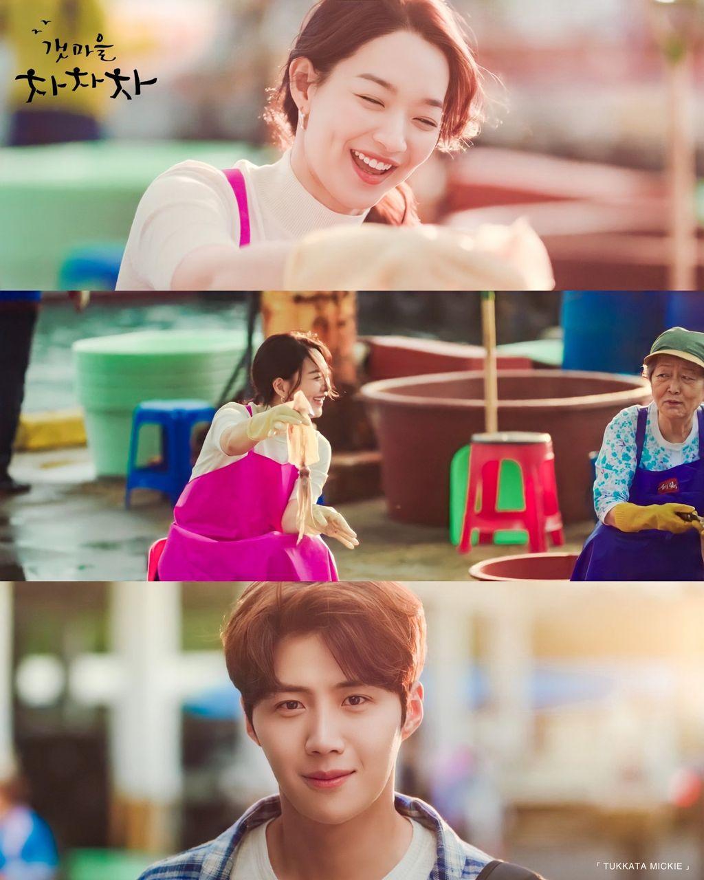 Ojingeochae yang populer di Gongjin, lokasi syuting drama Korea 'Hometown Cha Cha Cha'