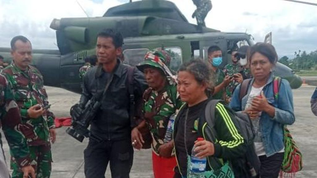 Distrik Kiwirok Belum Kondusif, TNI Evakuasi Guru-Warga ke Jayapura