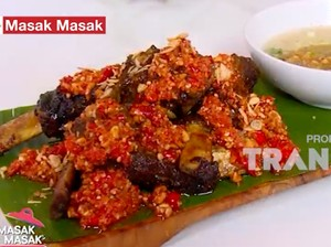 Masak Masak: Resep Konro Bakar Saus Kacang yang Gurihnya Mantap