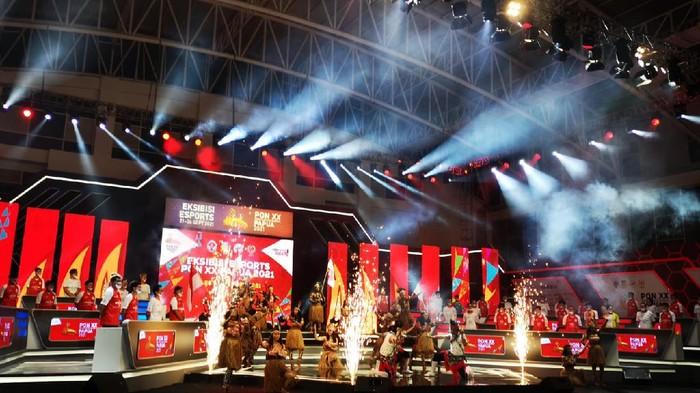 Suasana Opening Ceremony Esports PON XX Papua