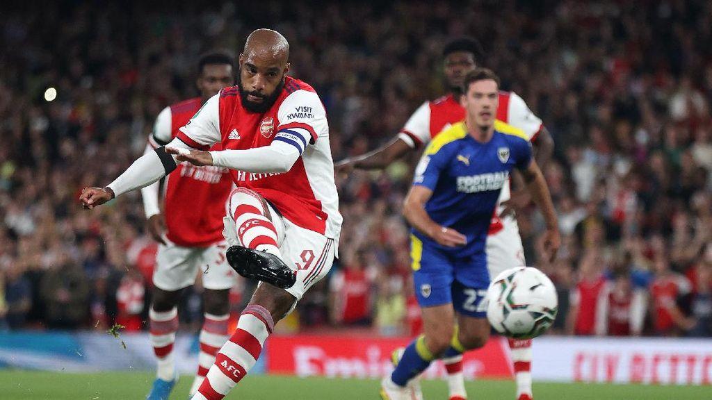Arsenal Gasak Wimbledon Tanpa Balas