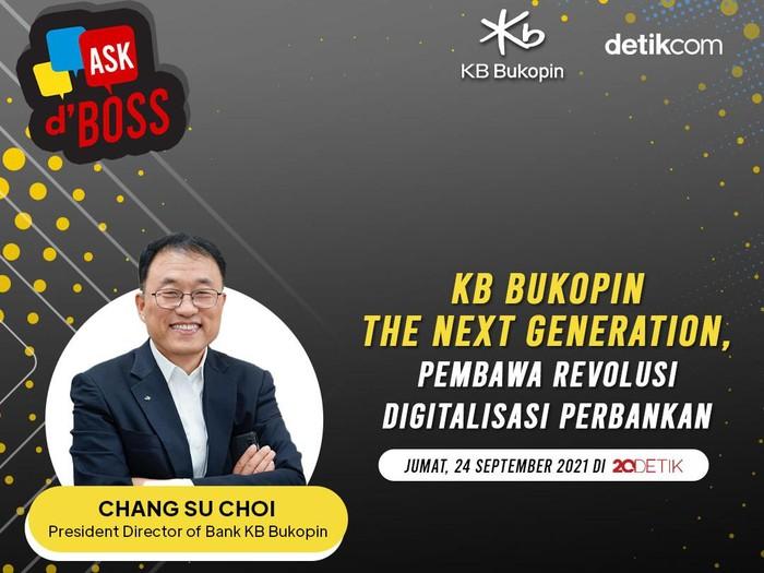 Ask dBoss Presdie KB Bukopin Chang Su Choi