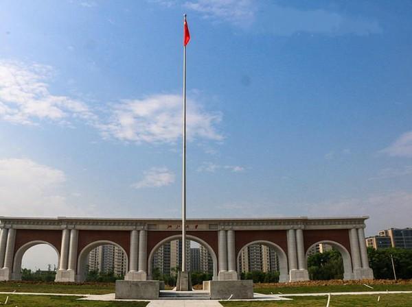 Tak hanya tempat wisata, di dalam nominasi, ada gedung yang sedang dalam proses pembangunan, yaitu Gerbang Selatan Kampus Zijingang, Universitas Zheijang yang dibangun dengan sumbangan alumni. (Archy.com)