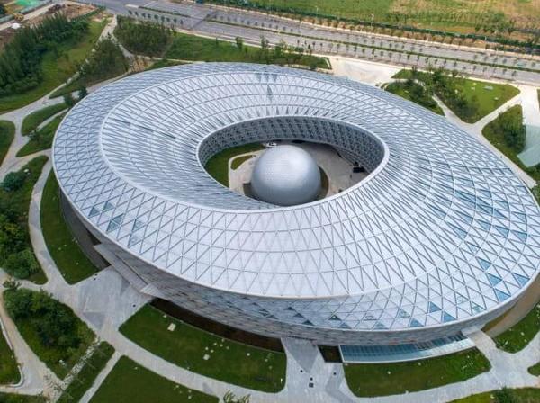 Dari wisata edukasi, ada Museum Sains dan Teknologi Xiangyang yang masuk dalam nominasi. (Getty Images)