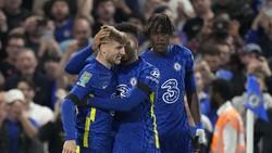 Cetak Gol Lagi untuk Chelsea, Werner Berbunga-bunga