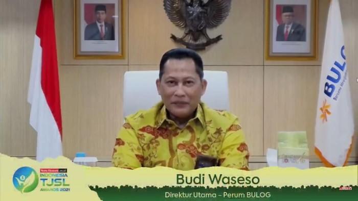 Direktur Utama Perum Bulog Budi Waseso