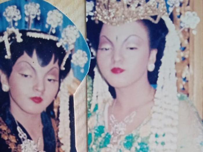 Lusi Tursinah.Foto Lusi saat menikah pada tahun 2004. Foto: Dok. pribadi Lusi Tursinah.