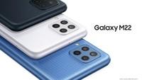 Resmi! Ini Harga dan Spesifikasi Samsung Galaxy M22 di Indonesia