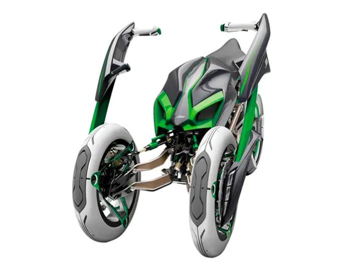 Kawasaki 3 roda Concept J