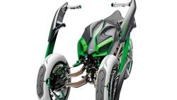 Kawasaki Punya Desain Motor 3 Roda Superbike, Kapan Diperkenalkan?