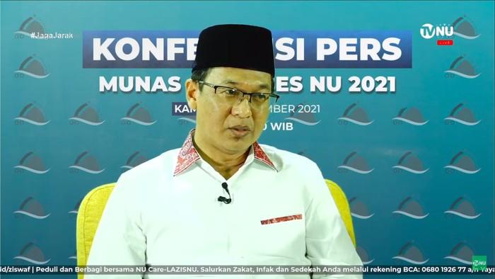 Ketua SC Munas dan Konbes NU KH Ishomuddin