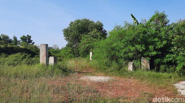 Kondisi Lahan Pembangunan Masjid Sriwijaya