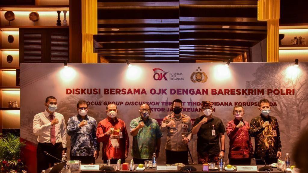 OJK dan PoIri Perkuat Pencegahan Korupsi Sektor Jasa Keuangan