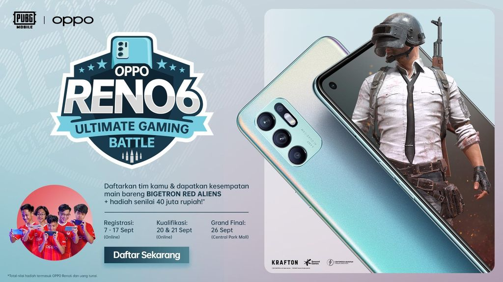 OPPO Reno6 Ultimate Gaming Battle