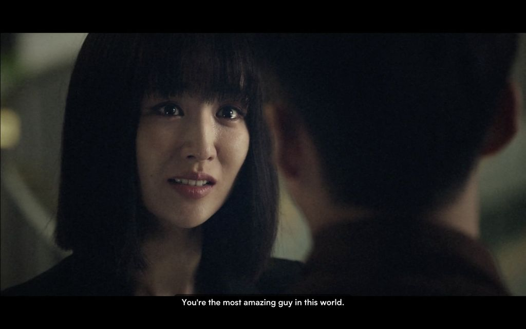 Park Ha Sun dalam drama Korea The Veil