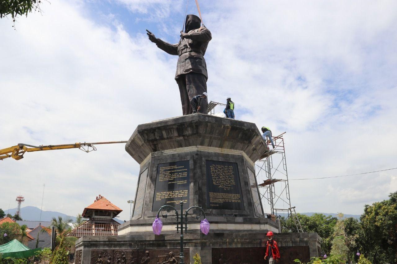 Patung Bung Karno Setinggi 14 Meter di Bali