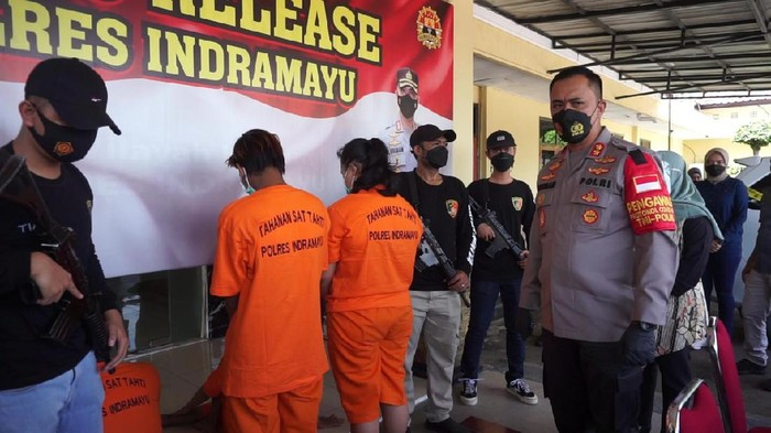 Pelaku pembunuhan di Indramayu ditangkap.