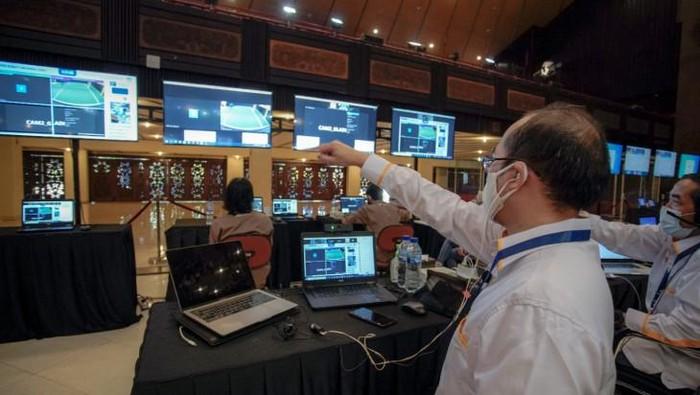 Pembukaan Kontes Robot Indonesia (KRI) Tingkat Wilayah di GSP UGM