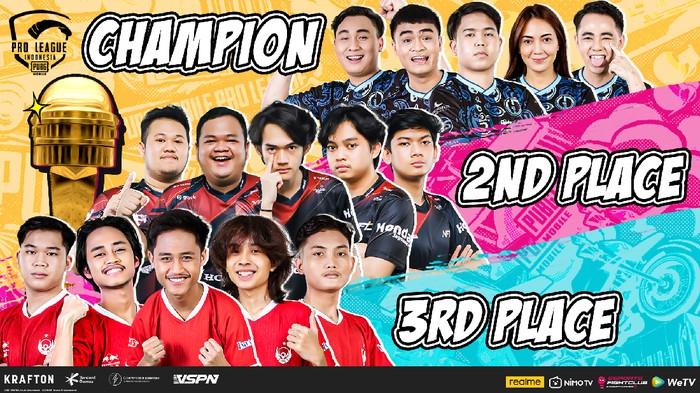 5 Tim Perwakilan Indonesia di PMPL SEA Championship