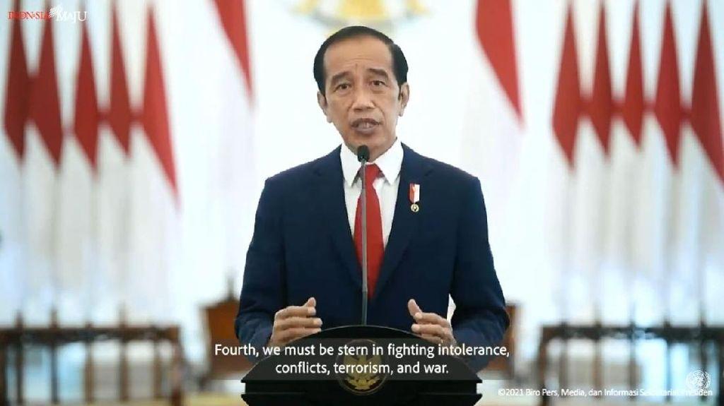 Jokowi Bicara Konflik Myanmar Hingga Palestina di Sidang PBB
