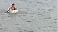 Bocah Naik Styrofoam Seberangi Sungai di Sumsel, Camat: Itu Main Usai Sekolah